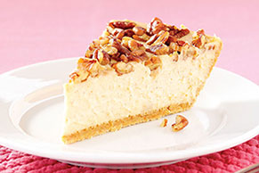 PHILADELPHIA 3-STEP Sweet Potato Cheesecake