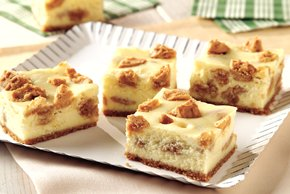 Peanut Butter Cookie-Cheesecake Bars