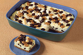 S'Mores Cheesecake Bars Image 1