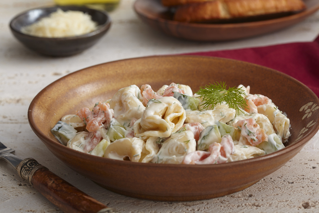 Tortellini with Salmon & Dill Image 1