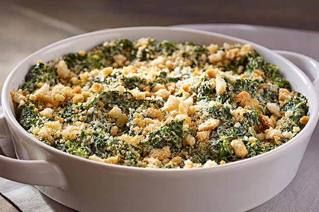 Classic Creamed Spinach Casserole Image 1