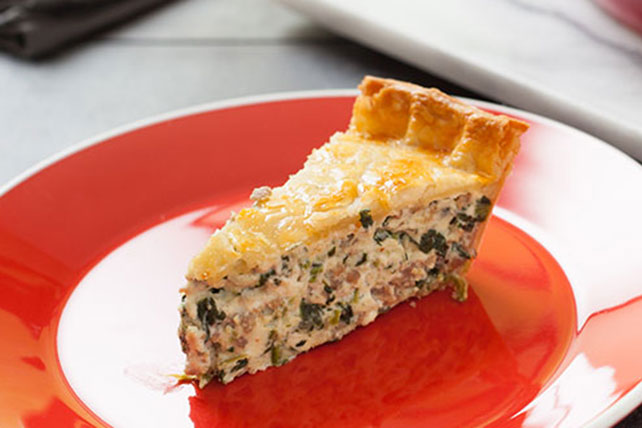 Sensational Spinach and Cheese Pie Image 1