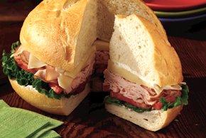 Turkey-in-the-Round Sandwich