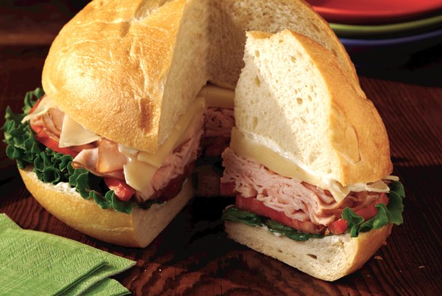 Turkey-in-the-Round Sandwich Image 1