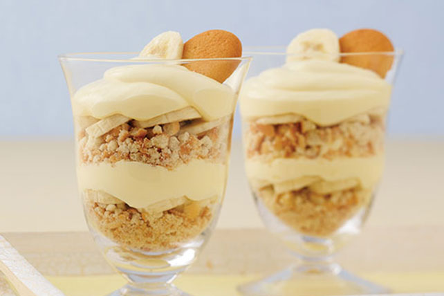 Fluffy Banana Pudding Parfaits Image 1