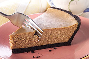 PHILADELPHIA® 3-STEP® Cappuccino Cheesecake