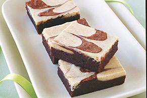 Cappuccino-Cream Cheese Brownies