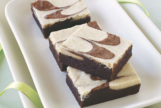 Cappuccino-Cream Cheese Brownies Image 1