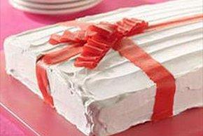 Pastel caja de caramelos