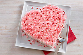Sweetheart Cut-Up Cake