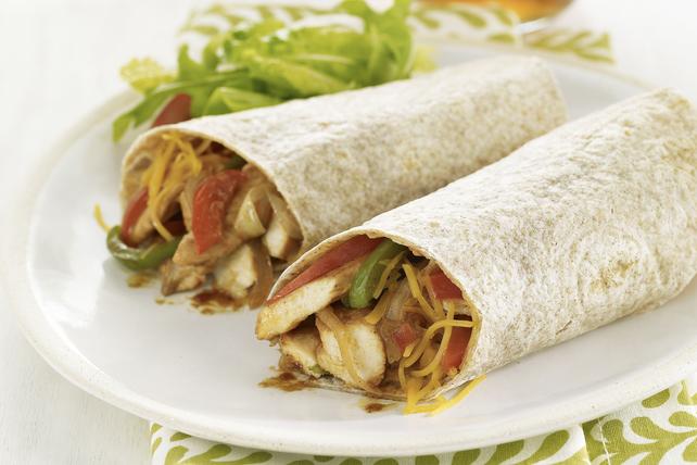 BBQ Cheddar Chicken Roll-Ups Image 1