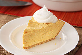PHILADELPHIA No-Bake Pumpkin Cheesecake