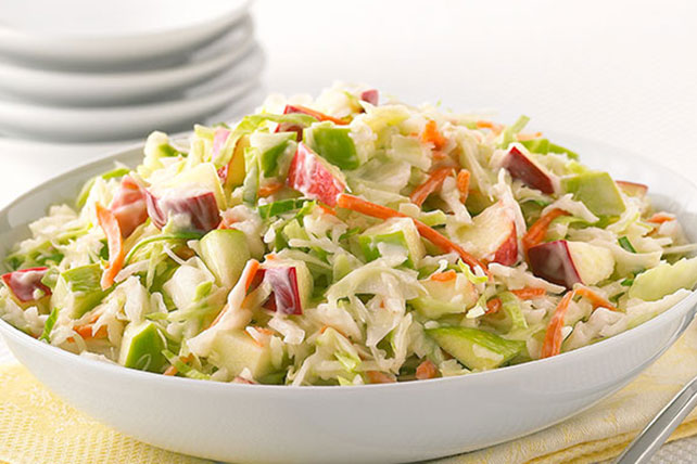 Sweet & Tangy Apple Coleslaw Image 1