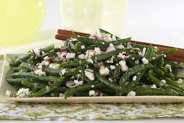 Green Beans and Feta with Dill Image 1