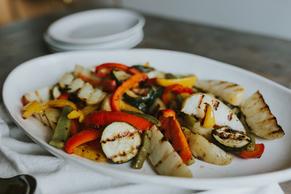 Simply Sensational Grilled Vegetables