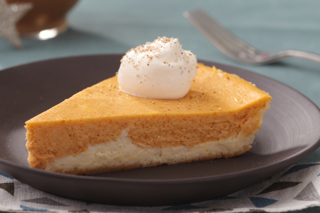 Double-Layer Pumpkin Cheesecake Image 1