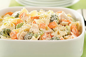 Low-Fat Summertime Tuna Pasta Salad