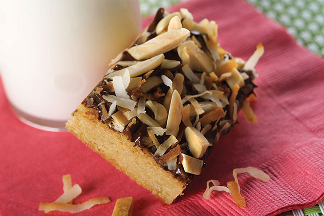 Almond Toffee Squares Image 1