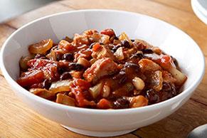 Black and White Bean Chicken Chili