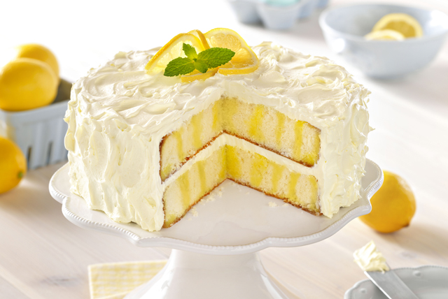 Inch Lemon Wedding Cake Recipe