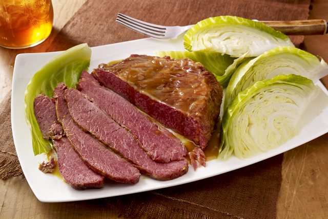 Corned Beef Brisket with Cabbage Image 1