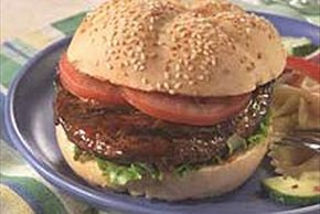 Barbecued Grilled Portobello Sandwich