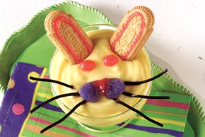 Easter Bunny Pudding Desserts