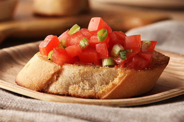 Low-Fat Bruschetta Image 1