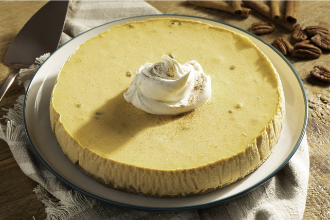 Pumpkin Spice Cheesecake Image 1