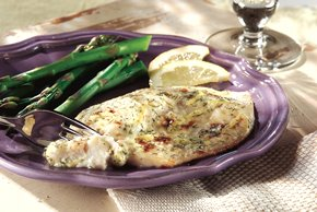 Grilled Lemon-Dill Fish