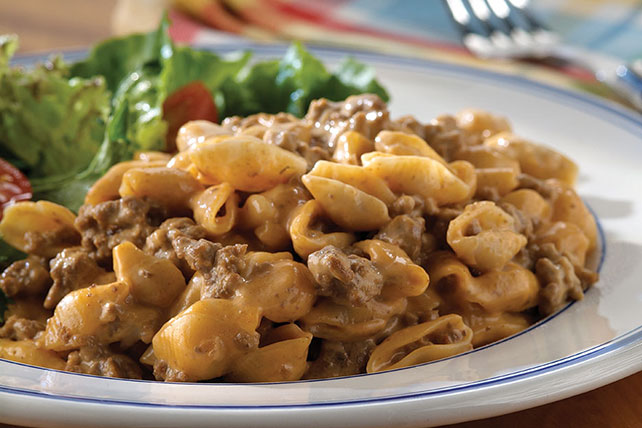 Cheesy Cheeseburger Mac Image 1