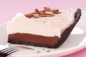 BAKER'S ONE BOWL Mocha Truffle Pie