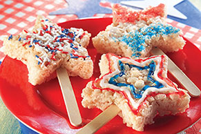 Sparklin' Marshmallow RICE KRISPIES TREATS®