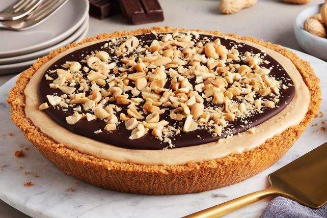 PHILADELPHIA 3-Step Peanut Butter-Chocolate Cheesecake Image 1