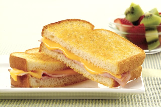 Grilled Ham and Cheese Sandwich Image 1