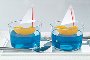 Berry Blue Sailboats