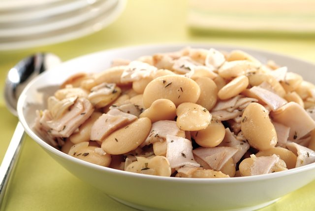 Smoked Turkey Recipe with Butter Beans Image 1