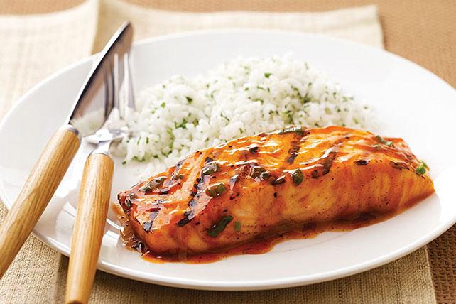 BBQ Salmon Image 1