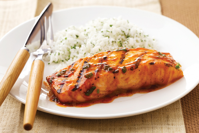 BBQ Salmon Recipe Image 1