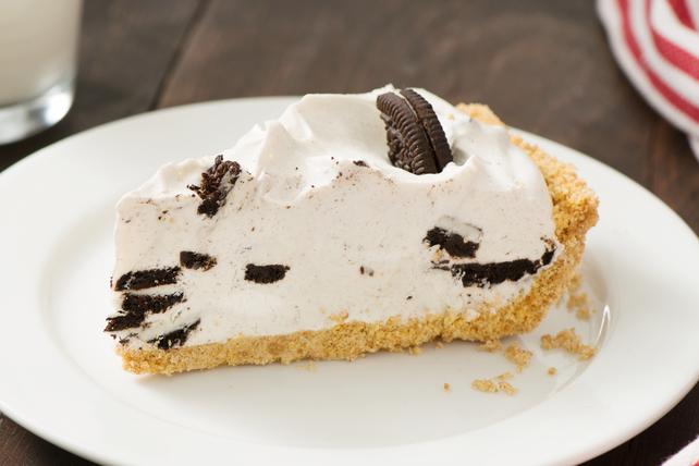 Tarte à la crème glacée biscuits et crème de la crémerie Image 1