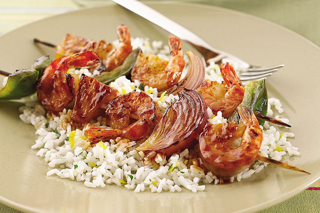 Shore Region Grilled Shrimp Skewers