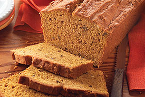 Pumpkin-Cream Cheese Bread