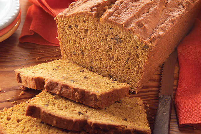 Pumpkin-Cream Cheese Bread Image 1