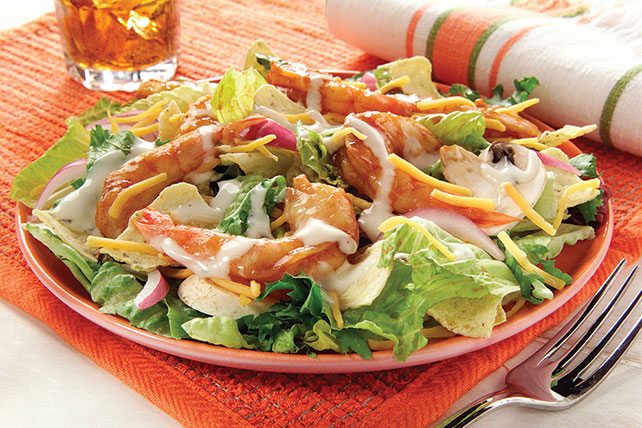 BBQ Ranch Shrimp Salad Image 1
