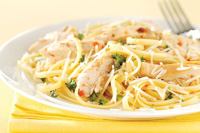 Easy Chicken & Parmesan Pasta Image 1
