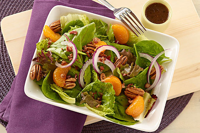 Citrus, Bacon & Pecan Salad Image 1