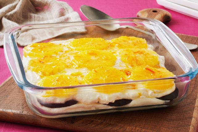 Layered Orange Dessert Image 1