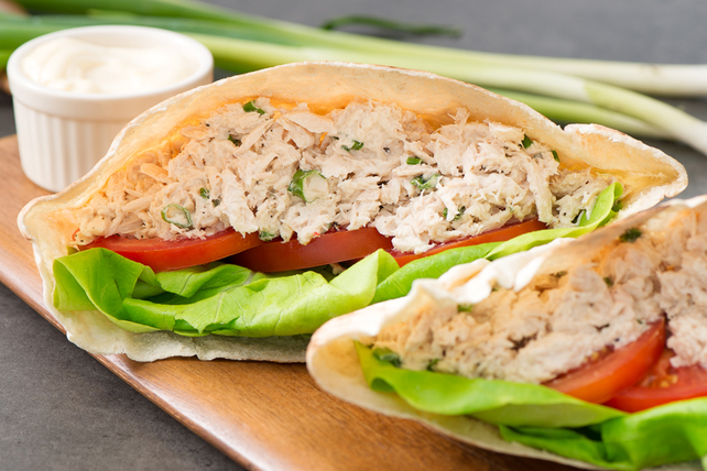 Tuna Salad Pita Recipe Kraft What S Cooking