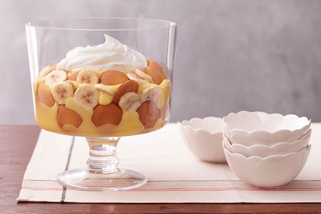 Easy Low-Fat Southern Banana Pudding Image 1