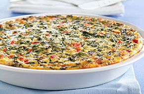 Quick Italian Spinach Pie Image 1